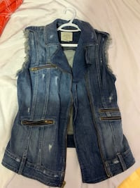 Guess By Marciano Mid Length Jean Vest