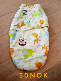 Baby swaddle wrap never used. NEW. WARM