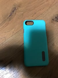 Custodia per iPhone 7 color verde acqua