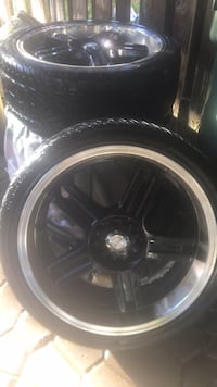 katana rims with kumho  tires low pros 19 inches 19 mi