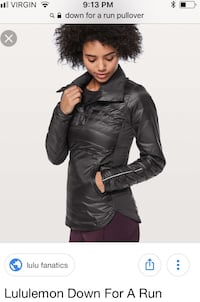 Lululemon Down for a run Pullover Edmonton, T6W 1C6