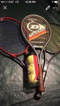 3 tennis Rackets /new balls West Chester, 45069