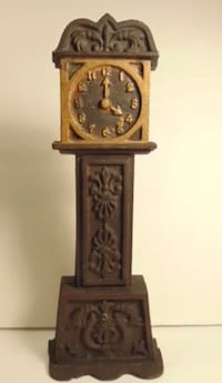 Authentic cast iron grandfather clock bank Silver Spring, 20904
