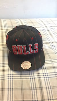 Chicago Bulls Mitchell & Ness Snapback Chesterfield, 23832