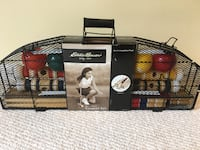 New Eddie Bauer Competition Croquet Set with Carrying Case Tysons