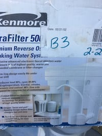 White kenmore water filter box Spring Hill, 37174