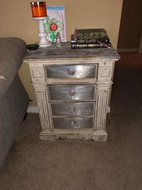 white and brown wooden dresser Fort Worth, 76036