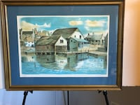 Artist signed limited edition lithograph  Quincy, 02169