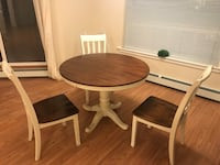 Dining table and 3 chairs Halifax, B3H 0A7