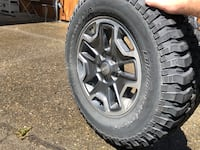 Jeep Rubicon Wheels and Tires - Set of 5 Tacoma, 98405