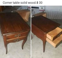 two brown wooden side tables Los Banos, 93635