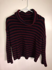 black and red striped sweater Concord, 94520