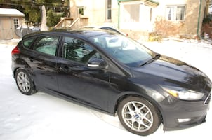 2015 Ford Focus with Bridgestone Blizzak Tires