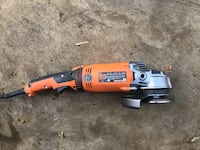 Rigid Heavy duty angle ginder. 15A, swivel grip. Barely used, like new. $129 new Silver Spring, 20902