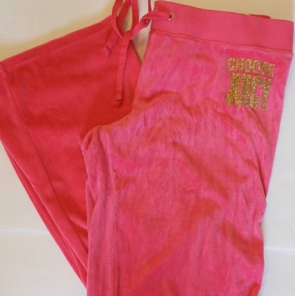 JUICY COUTURE velour pants - large 2f62bc57-3628-4911-83b8-77f4db617058