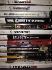 XBox 360 Games, new and gently used St Catharines, L2S