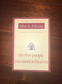 The five people you meet in heaven- Mitch albom Vaughan, L4L 0H3