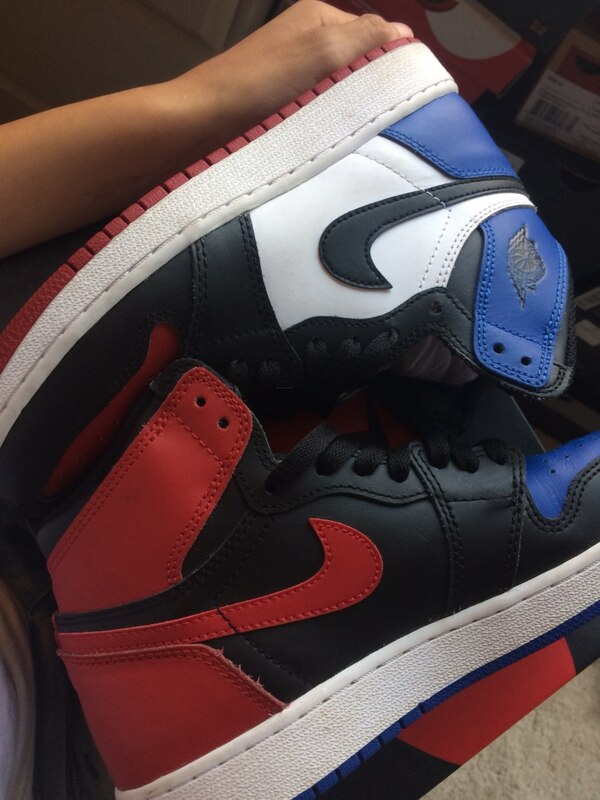 new product de2f1 a6ac8 Used Air Jordan 1 top 3 size 5y for sale in Fremont - letgo