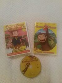 Curious George DVD's Woodbridge, 22193