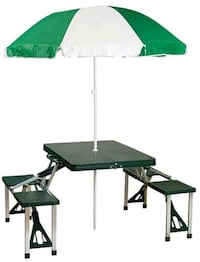 Stansport Picnic Table and Umbrella Comb (NEW) London, N6B 1V5