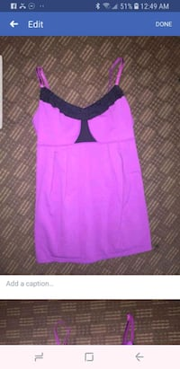 Size 4 lulu lemon tank top. Lethbridge