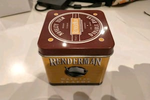 pixel Renderman walking teapot