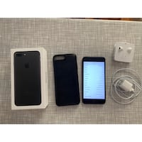 Unlocked 128gb IPhone 7 Plus with Mophie Bloomfield, 07003