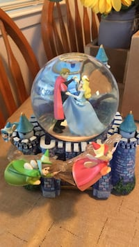"""Sleeping Beauty musical """"Once Upon A Time"""" snow globe Danville, 94526"""