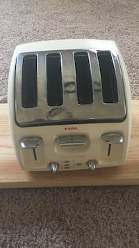 white and gray Tefal bread toaster Chesapeake, 23325