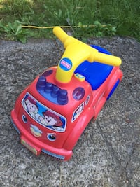 toddler's red and yellow ride on toy Langley, V2Y 1V4