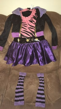 "Monster High ""Clawdeen Wolf"" costume New York, 10029"