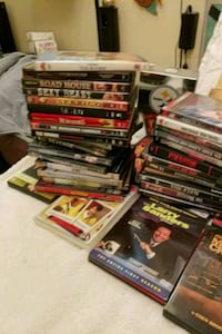 assorted DVD movie case lot Los Angeles, 90044
