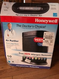 black and white Honeywell portable air conditioner box Haymarket, 20169