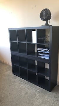black wooden cubby shelf with drawers Westlake Village, 91362