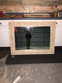 Detailed gold and cream mirror Olney, 20832