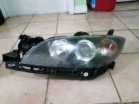 Mazda 3 2005 front and rear lights completep set  779 km