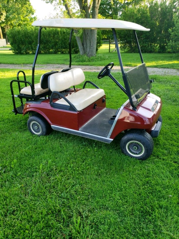 Used Club Car 4 Seater Gas Golf Cart Very Clean For Sale In Rockford