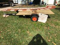 black and brown utility trailer Fort Pierce, 34951