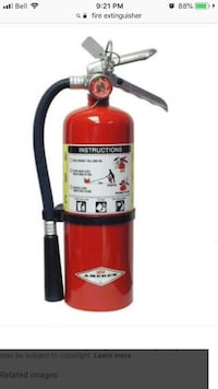 Fire extinguisher Vaughan, L6A 2C1