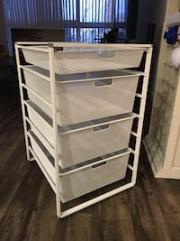 White drawer organizer  Arlington, 22203