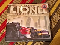 A Century of Lionel Timeless Toy Trains coffee table hardcover book  Toronto, M2M 2A2
