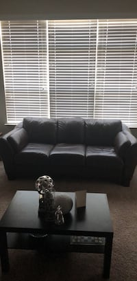 Brown Leather Couch Huntersville, 28078