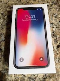 I Phone X  brand new in open AT&T still sealed