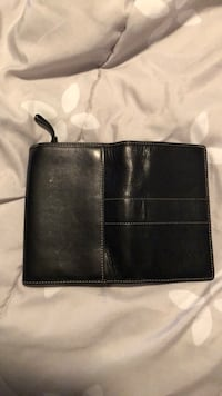Black leather Coach wallet. Good condition! Smoke free home  Severn, 21144