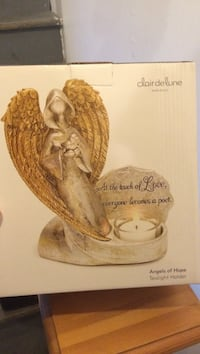 Clair De Lune angel candle holder box