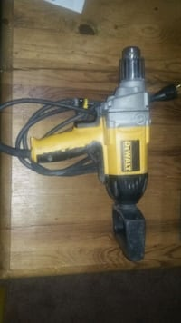 yellow and black DeWalt corded power drill Edmonton, T6C 3E9