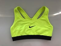 Black and yellow Nike sports bra Vaughan, L6A
