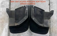 994-1997 ACURA INTEGRA 4DR REAR SPASH GUARDS. $60