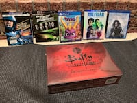 New blu rays PS4 game and glasses Calgary, T3K 3Y1