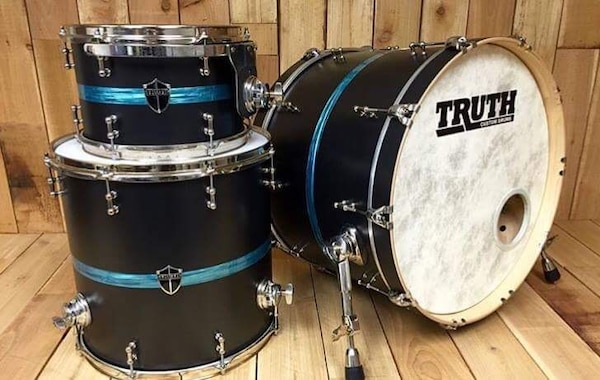 black-and-blue Truth drums